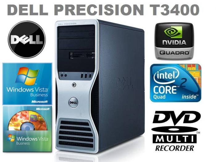 Dell Precision T3400 - Intel Core 2 Quad Q9450