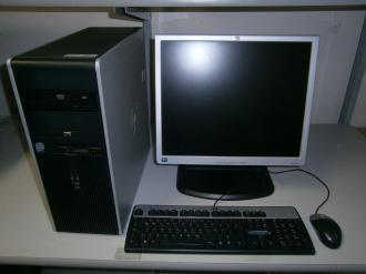 "HP CORE 2DUO HP DC 7800  +19""LCD-"